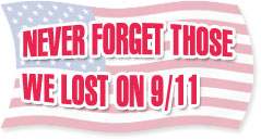 never forget those we lost on 9/11