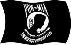 pow-mia-flag waving
