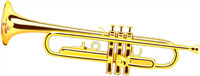 gold trumpet