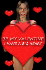 big valentine heart