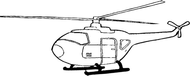 Free Helicopter Clipart - Airplane Clipart - Aircraft Graphics