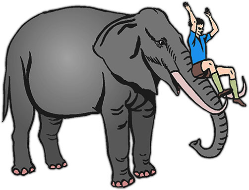 Free Elephant Animations - Elephant Clipart - Gifs