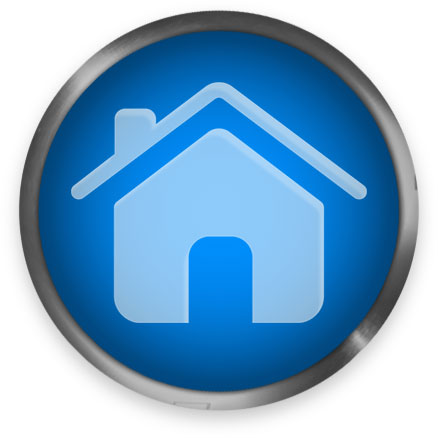 round home button blue