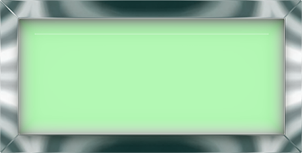 green glass rectangular button