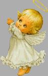 cute angel with wings