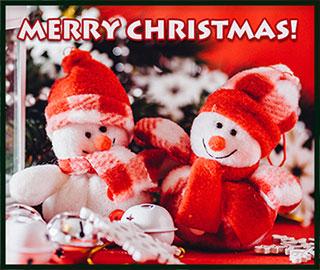 Merry Christmas snowmen