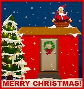 Santa visits your home