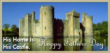 Dads Castle Happy Fathers Day