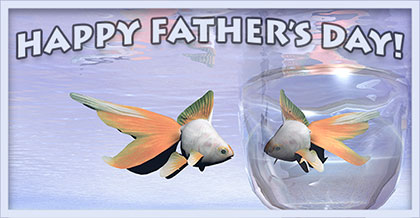 Happy Father's Day fish
