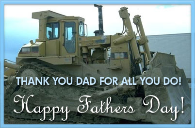 thank you dad for everything you do