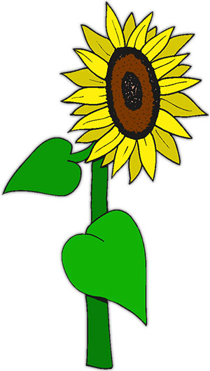 Free Sunflowers - Animated Gifs - Clipart
