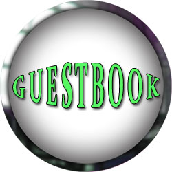 guestbook green with metal frame