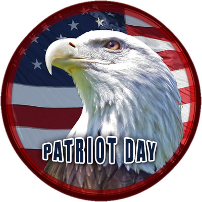 Patriot Day with American Eagle