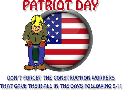 Patriot Day Construction Workers