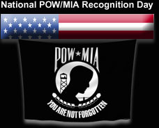 National POW/MIA Recognition Day image for black background
