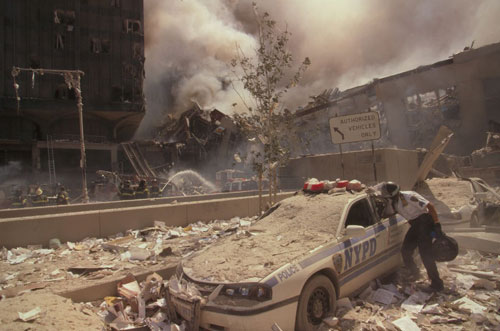 devastation on 9/11