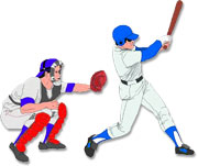 batter and catcher