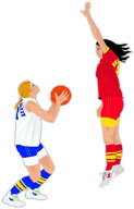 2 women players