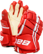 hockey gloves red